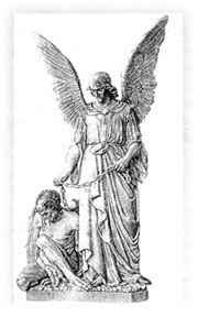 Archangel Raphael with Asmodeus