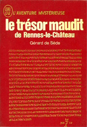The cover of The Accursed Treasure by Gerade de Sede.