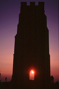 St Michael's tower at Beltane